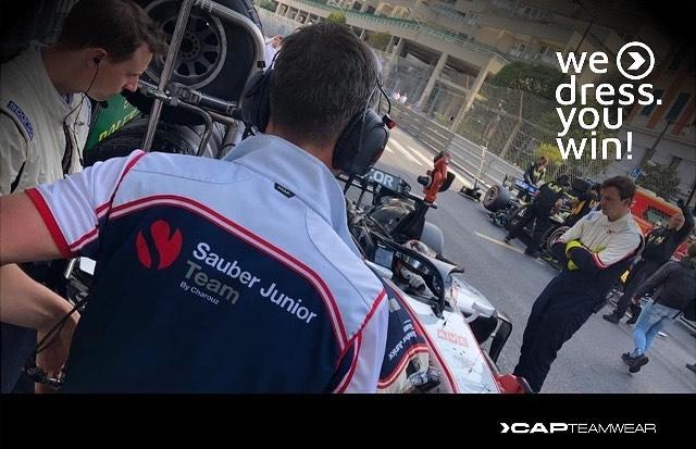 #capteamwear #ontrack#motorsport #formula2 #racing #teamwear #sauberf2#monaco
