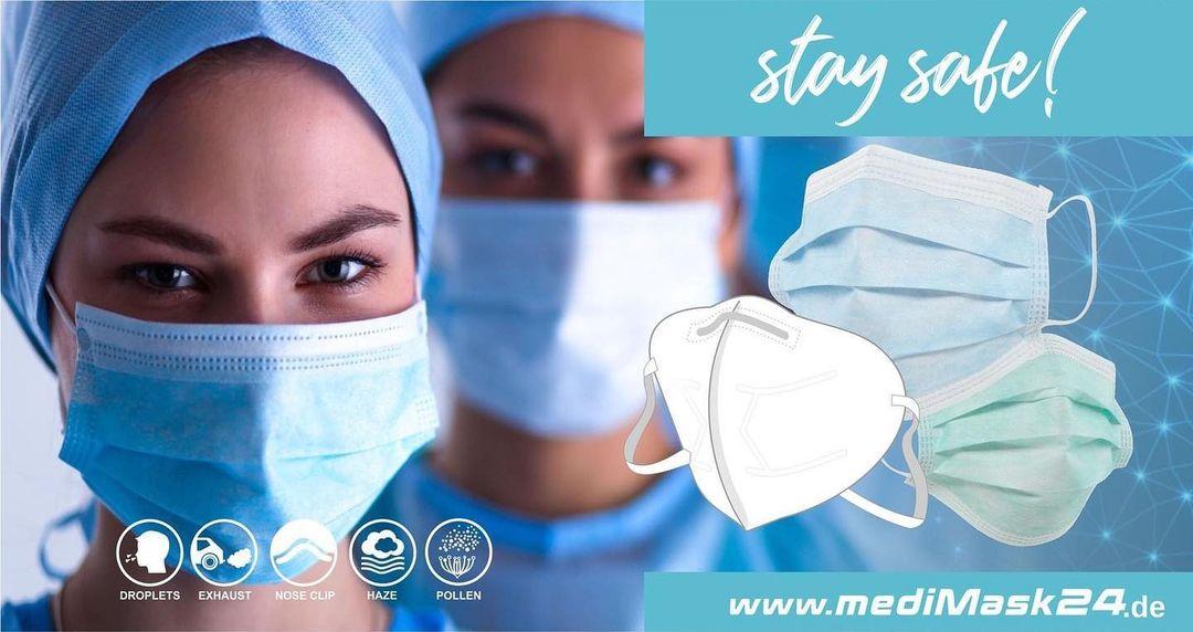 Stay safe! https://www.medimask24.de/